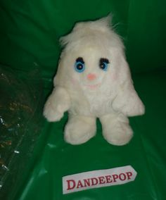 """Vintage Scotties Little Softie Collectible Plush Puppet Toy Doll New 6"""" packaged find me at www.dandeepop.com"""