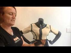 This shoulder brace is designed for women with two problems shoulders. It is ideal for women with bilateral multi-directional instability such as in Ehlers D. Shoulder Brace, Ehlers Danlos Syndrome, Black Vest, Braces, Shape, Female, Youtube, Women, Fashion