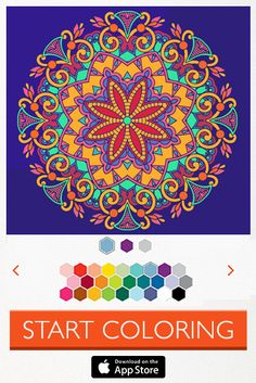 Draw Your Own Pictures Or Create Mandala Colorfy Is The Original Coloring App Join Millions Of Artists