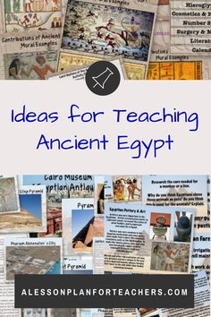 Teaching about the history and geography of Ancient Egypt  can be simple with a ready to use full unit and great teaching resources by Michele Luck and awesome suggestions from PHD author Malayna Evans. The ideas are great and the  activities will keep your students engaged in learning the facts and  stories of the time period.