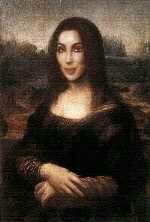 Cher as the Mona Lisa!