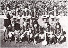 Equipos de fútbol: BARCELONA contra Hércules de Alicante 14/03/1976