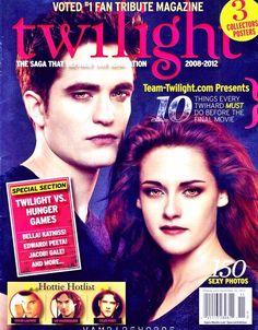 Twilight Saga tribute fan magazine, 2012