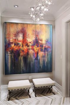 Large Canvas Art Original Colorful Abstract Painting Orange Painting Acrylic Painting On Canvas Original Texture Art Dine Room Wall Art – Malerei Acrylic Painting Canvas, Abstract Canvas, Acrylic Art, Orange Painting, Large Canvas Art, Large Art, Modern Wall Art, Contemporary Decor, Texture Art