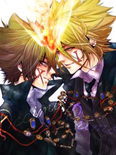 tsunayoshi and giotto - Cerca amb Google