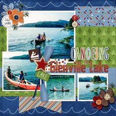 Canoeing - Scrapbook.com
