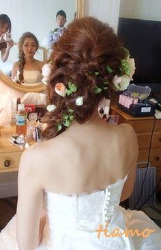 ステキ花嫁さまの人気ラプンツェルヘアー♡ |大人可愛いブライダルヘアメイク『tiamo』の結婚カタログ