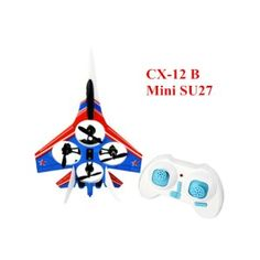 Cheerson CX-12 Mini F15/SU27/F22/F35 Fighter 2.4G, 4CH 6 Axis LED, RC Quadcopter Drone with Retail Package. Package Included: 1 x Cheerson CX-12 Mini Fighter 1 x Transmitter 1 x USB charging cable