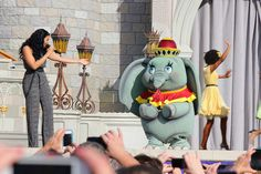 New Fantasyland grand opening Disney Theme, Disney Love, Disney Magic, Disney Parks, Walt Disney World, Disney Pixar, Disney Characters Costumes, Character Costumes, Dumbo Costume