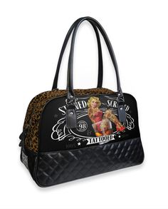 Liquor Brand STEWED SCREWED TATTOOED Accessories Bags-Handbags