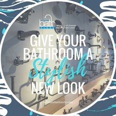 Refresh and update your bathroom with new fixtures from The Ultimate Bath Showroom. We have everything you need for your bathroom update! http://www.ultimatebathstore.com/
