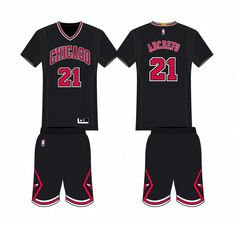 9ef6d012a Chicago Bulls Alternate Uniform 2016- Present  basketballuniforms  Basketball Sneakers