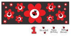 Creative Converting Ladybug Fancy Giant Party Banner with Stickers - List price: $9.99 Price: $2.35