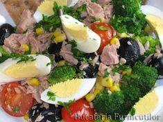 Rețetă Antreuri : Salata colorata de Furnicuti Yummy Food, Tasty, Cobb Salad, Cooking, Drinks, Salads, Kitchen, Drinking, Beverages