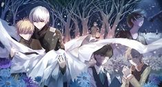 Best friends till the very end | Kaneki and Hide. Rip my feels and heart out not like I needed them anyway! T-T