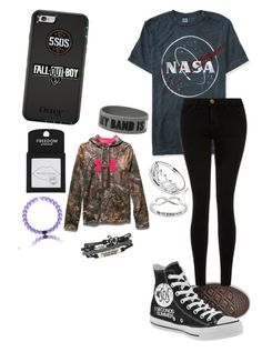 """""""Untitled #359"""" by mrs-irwin-grier on Polyvore featuring Aéropostale, Current/Elliott, Under Armour, Pandora, Topshop and Eternally Haute"""