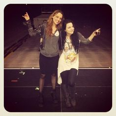 Lzzy and amy lee