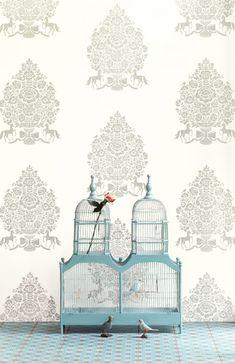 Nieuwste Pip Studio Behang - Pip Studio Behangboek 3 is Uit! Kleurrijk Bloemen Behang: Pip For President MEER Behang… (Foto Pip Studio Wallpaper Collection  op DroomHome.nl)