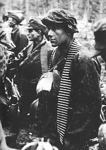 Soldiers from the Nord Division in Karelia, Finland.