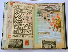 Travel journals~Image by Mary Ann Moss
