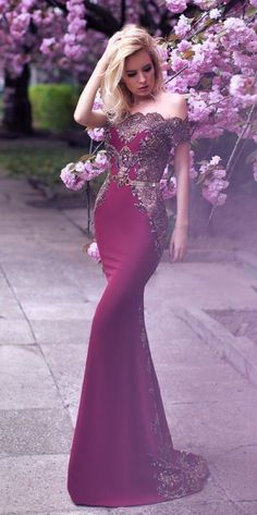 Off-the-Shoulder Mermaid Lace Long Prom Dress from 27dress.com. Free Shipping, Extra $100+ Coupons. Shop Now>>>