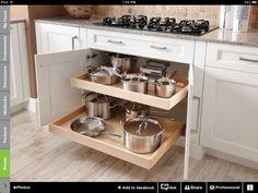 Better cabinet storage