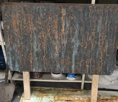 Fake rust effect paint on any surface, wood, metal and plastics. Rust, Painters, Table, Furniture, Home Decor, Decoration Home, Room Decor, Tables, Home Furnishings