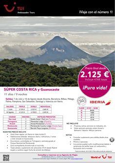 ¡Pura vida! Súper Costa Rica con Guanacaste. Precio final desde 2.125€ ultimo minuto - http://zocotours.com/pura-vida-super-costa-rica-con-guanacaste-precio-final-desde-2-125e-ultimo-minuto/