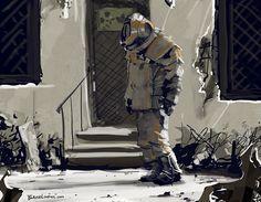 Fallout Hazmat Suit by BrianLindahl