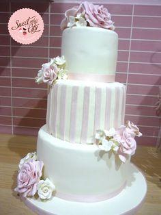 #wedding #cake / #tarta de #boda www.sweetandtehcity.com