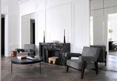 A Neuilly Apartment Design by Joseph Dirand