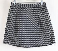 NWT BCBGMaxazria Silver Textured Pleated Mini Woven Skirt 8 #BCBGMaxazria #SkirtsSkortsDresses #Career