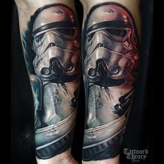 @tattooedtheory Found on Instagram. #StarWarsTattoo #StarWars #Tattoo