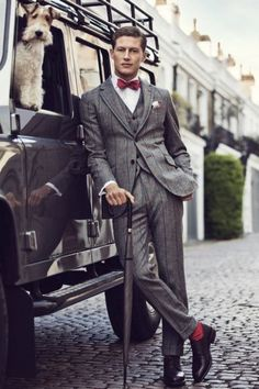 Statement socks!  http://www.annabelchaffer.com/categories/Gentlemen/ Mz. Manerz