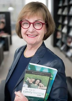 """An outstanding registered nurse! Maureen Leahey, RN, PhD, co-author of """"Nurses and Families (2013)"""" and mental health leader and administrator will be awarded the 2015 Lifetime Achievement Award from CARNA. #familynursing"""