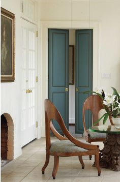 Upholstered Doors with Nailhead Trim!