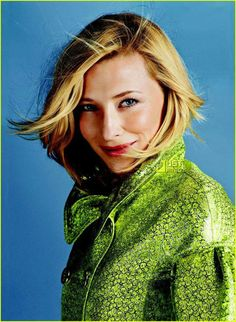 Cate Blanchett will play me in the movie about my life
