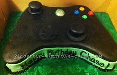 Coolest Xbox Controller Birthday Cake... This website is the Pinterest of birthday cake ideas