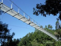 Puente O Xirimbao sobre el río Ulla. Área recreativa del Xirimbao