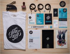 In house graphic design conference - House interior Collateral Design, Design Agency, Identity Design, Brand Identity, Logo Design, Design Set, Id Card Design, Badge Design, Conference Branding