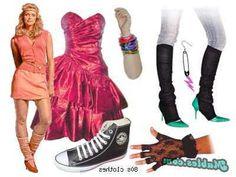 Clothing Fashion on 80s Clothes   Luxonbiz