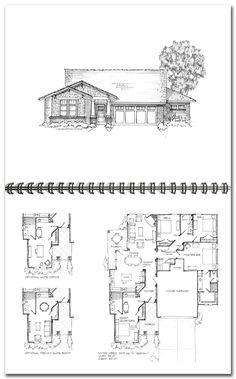 12 Best Plans maisons bi-génération et intergénérationnel