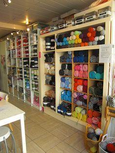Yarn shops make me happy.