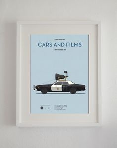 Blues Brothers inspired movie poster, art print A3 Cars And Films, home decor prints, illustration print on Etsy, $29.94