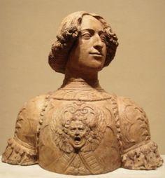 Giuliano de' Medici by Andrea del Verrocchio.