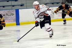 Chicago Steel vs. Green Bay Gamblers 9/20/13  Featured: T.J. Moore #10