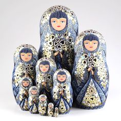 Blue Lace Queen Collectible Doll