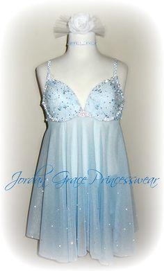 Jordan Grace Princesswear custom lyrical dance costume, lyrical solo, dance costume