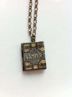 Handmade Buffy the Vampire Slayers Vampyr book