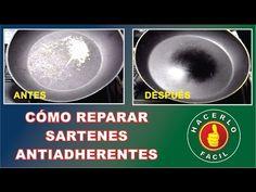 Cómo Reparar Sartenes Antiadherentes | Hacerlo Fácil - YouTube